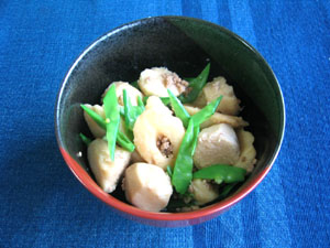 ちくわぶと里芋の旨煮